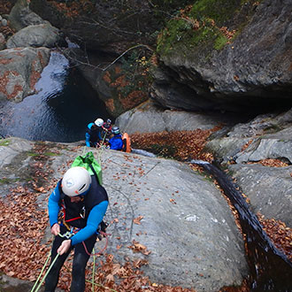 My Greece canyoning experience!!!